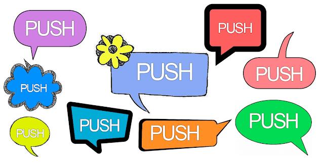 Quando utilizar notificações por Push